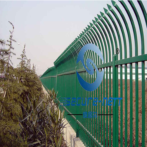 Extension arms zinc steel fence