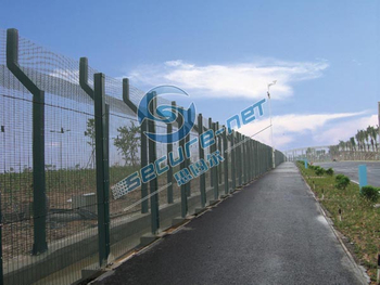 358 Security Mesh Fencing-the highest level of safety welded panel barrier