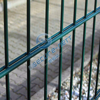 Double 656 wire mesh fencing
