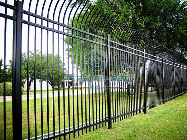 hot dipped galvanized extension arms steel fencing