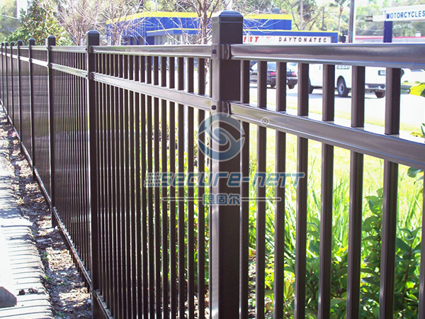 Galvanized Steel Garrison Fence