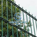 Welded 868 Double Horizontal Wire Mesh Fence