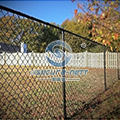 Residential Galvanized Chain Link Fence