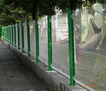 What is mesh fencing