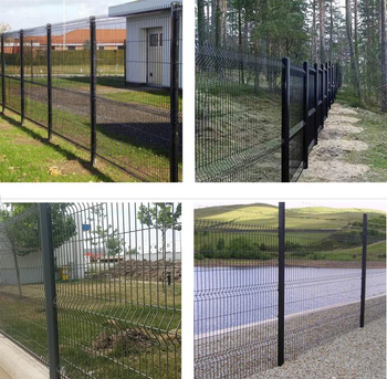 What is Welded Mesh Fencing?