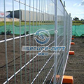 Australian removable temporary fencing
