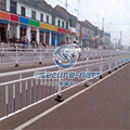 Removable road barrier fence