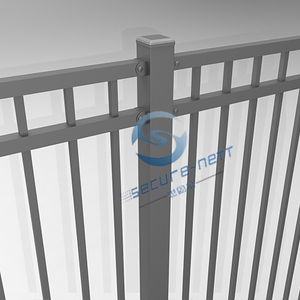 Flat Top Steel Fencing