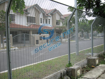 Welded 358 security fencing systems