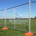 Temporary steel predestrian barricade traffic barrier
